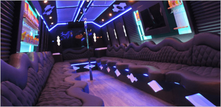 20 Passenger Party Bus Interior San Francisco