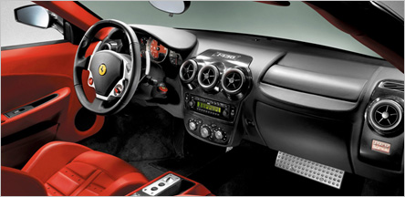 Ferrari F-430 Interior San Francisco