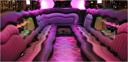 Hummer Stretch Limo San Francisco Interior