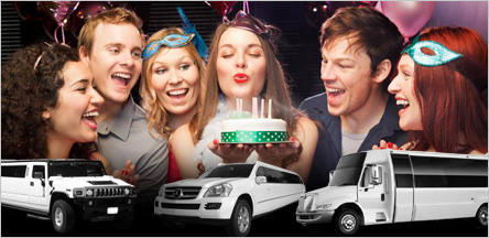 Rent Limo Party Bus For Birthday Parties In San Francisco